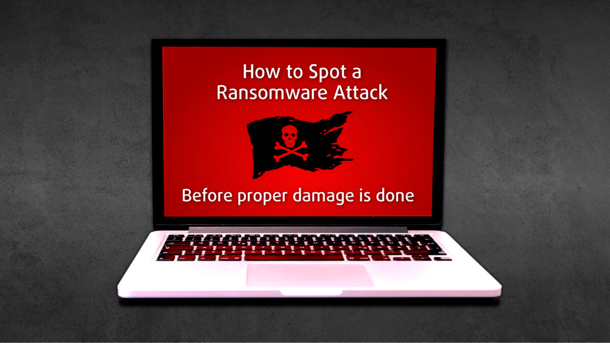 """Featured Image for """"How to Spot a Ransom Ware Attack"""" Blog Post"""
