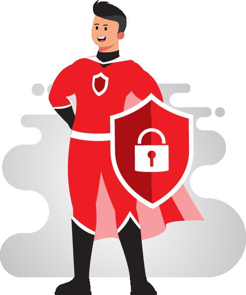 Cartoon - Captain CyberSecurity